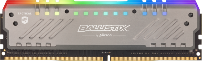 Crucial Ballistix Tactical Tracer RGB 8GB DDR4-3000 UDIMM PC4-24000 CL15, 1.35V
