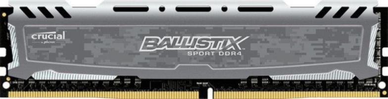 Crucial Ballistix Sport LT Gray 16GB DDR4-2400 UDIMM PC4-19200 CL16, 1.2V