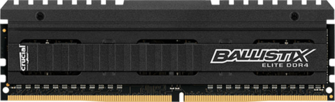 Crucial Ballistix Elite 4GB DDR4-3200 UDIMM PC4-25600 CL16, 1.35V