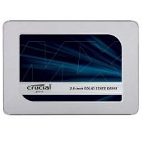 Crucial MX500 500GB SATA 2.5 7mm (z 9.5mm adapter) Internal SSD