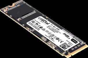 Crucial P1 SSD 500GB M.2 80mm PCI-e 3.0 x4 NVMe, 3D QLC