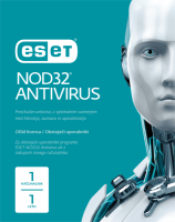 ESET NOD32 Antivirus - 1 leto OEM
