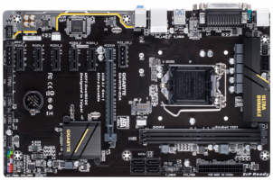 GIGABYTE GA-H110-D3A MINING, DDR4, SATA3, VGA, USB3.1, LGA1151 ATX