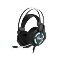 HAVIT Gamenote LED slušalke z mikrofonom HV-H2212d