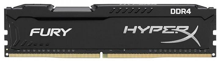 Kingston HyperX Fury, 8GB DDR4 2666MHz, CL16 DIMM