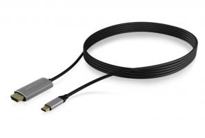 Icybox kabel iz USB-C na HDMI s podporo za 4k@60Hz