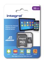 INTEGRAL 32GB A1 App Performance microSDHC UHS-I U1 spominska kartica
