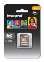 INTEGRAL 4GB SDHC CLASS10 spominska kartica