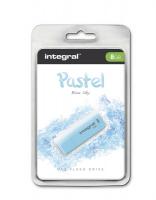 INTEGRAL PASTEL 8GB USB2.0 Blue Sky spominski ključek