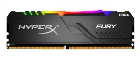 Kingston HyperX Fury RGB 8GB DDR4-3000 DIMM PC4-24000 CL15, 1.2V