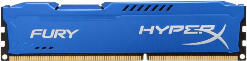 KINGSTON Hyperx Fury 4GB DDR3 1866 CL10 blue