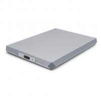 LaCie 2TB Mobile Drive, zunanji disk USB-C siv