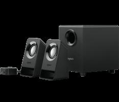 Logitech zvočniki 2.1 Z213 7W RMS,črni