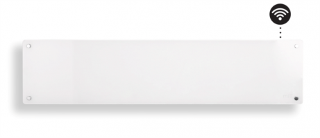 MILL panelni konvekcijski radiator Wi-Fi 800W steklo low profile AV800L WIFI