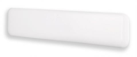 MILL panelni konvekcijski radiator 1000W bel jeklo low profile IB1000L DN
