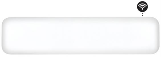 MILL panelni konvekcijski radiator Wi-Fi  800W jeklo low profile NE800L WIFI