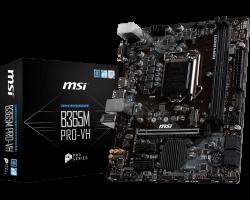 MSI B365M PRO-VH, DDR4, SATA3, USB3.1Gen1, HDMI, LGA1151 mATX