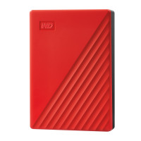 WD My Passport 4TB USB 3.0, rdeč