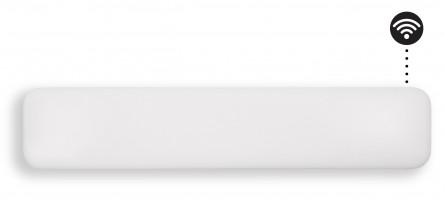 MILL panelni konvekcijski radiator Wi-Fi 1000W  bel jeklo NE1000L WIFI
