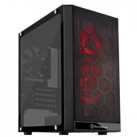 Silverstone PS15 RGB mATX tempered glass ohišje