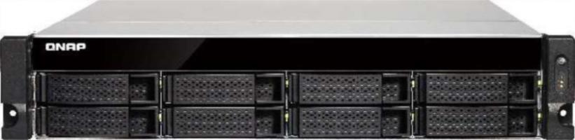 """QNAP TS-863U NAS strežnik za 8 diskov, 2U 19"""" rack"""