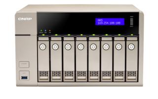 QNAP TVS-863+ NAS strežnik za 8 diskov