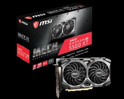 Grafična kartica MSI Radeon RX 5500 XT XT MECH 8G OC, 8GB GDDR6, PCI-E 4.0