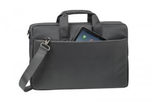"""RivaCase torba za prenosnik 17.3"""" siva 8251"""