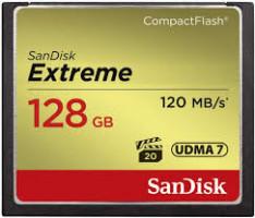 SanDisk 128GB Compact Flash Extreme UDMA7
