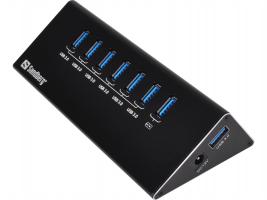 Sandberg USB 3.0 Hub 6+1 ports
