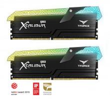 Teamgroup XCALIBUR 16GB Kit (2x8GB) DDR4-4000 DIMM PC4-32000 CL18, 1.35V - Tatoo edition