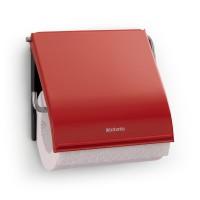 Brabantia držalo za toaletni papir Classic rdeč