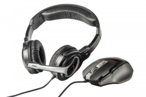 Trust 20499 GXT249 gaming slušalke & miška