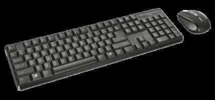 Trust 21574 XIMO brezžična tipkovnica in miška