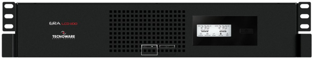 "Tecnoware UPS ERA LCD 1.100 RM - 19"" rack brezprekinitveno napajanje"