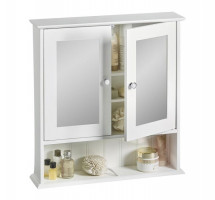 VonHaus Colonial viseča omarica z ogledalom