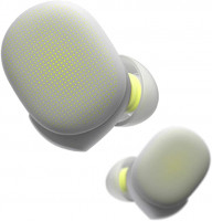 Amazfit PowerBuds slušalke s senzorjem za srčni utrip rumene