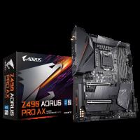 GIGABYTE Z490 AORUS PRO AX, DDR4, SATA3, USB3.2Gen2, HDMI, WiFi 6 802.11ax modul, Intel 2.5GbE LAN, LGA1200 ATX