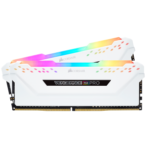 Corsair VENGEANCE RGB PRO 16GB (2 x 8GB) DDR4 DRAM 3200MHz PC4-25600 CL16, 1.2V/1.35V