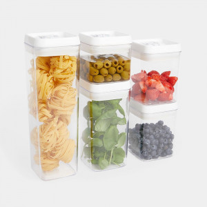 VonShef 5-delni set vakumskih posodic za shranjevanje hrane