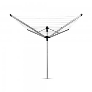 Brabantia zunanji sušilnik Lift-O-Matic za perila 50m sivo