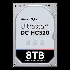HGST/WD 8TB SATA 3 6GB/s 256MB 7200 ULTRASTAR DC HC320 7K8 512e