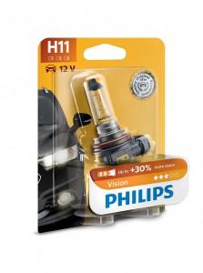 Philips avtomobilska žarnica Vision H11 12V 55W