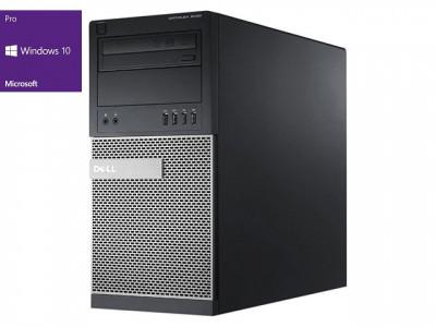 Dell Optiplex 9020 MT i3-4130 8GB 256GB SSD HD8490 Windows 10 Pro - obnovljen računalnik