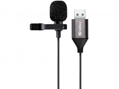 Sandberg Streamer USB Clip mikrofon