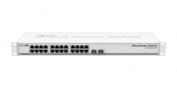 Mikrotik mrežno stikalo CSS326-24G-2S+RM