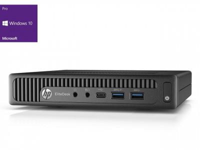 HP EliteDesk 800 G2 Tiny i5-6600 8GB 256GB SSD Windows 10 Pro - obnovljen računalnik