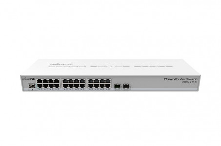 Mikrotik NET ROUTER/SWITCH 24PORT CRS326-24G-2S+RM