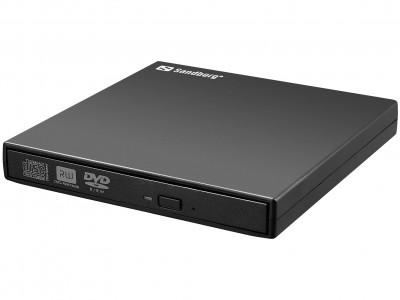 Sandberg USB Mini DVDRW Burner slim zunanji zapisovalnik