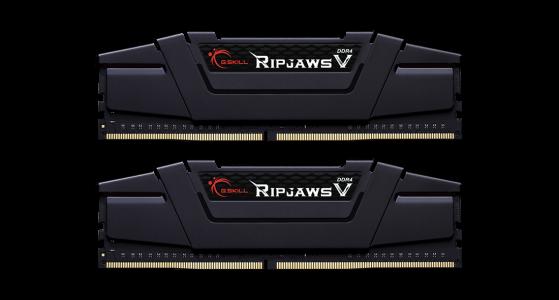 G.Skill Ripjaws V 16GB Kit (2x8GB) DDR4-3200MHz, CL16, 1.35V